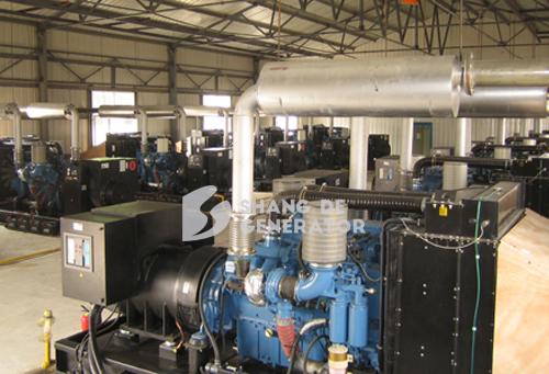 某煤矿集团采购尚德柴油发电机组